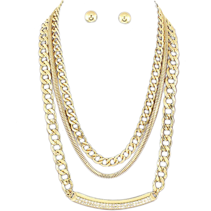 Allison Chain Necklace Set