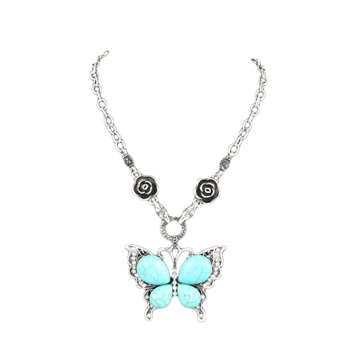 Marcia Turquoise Necklace.