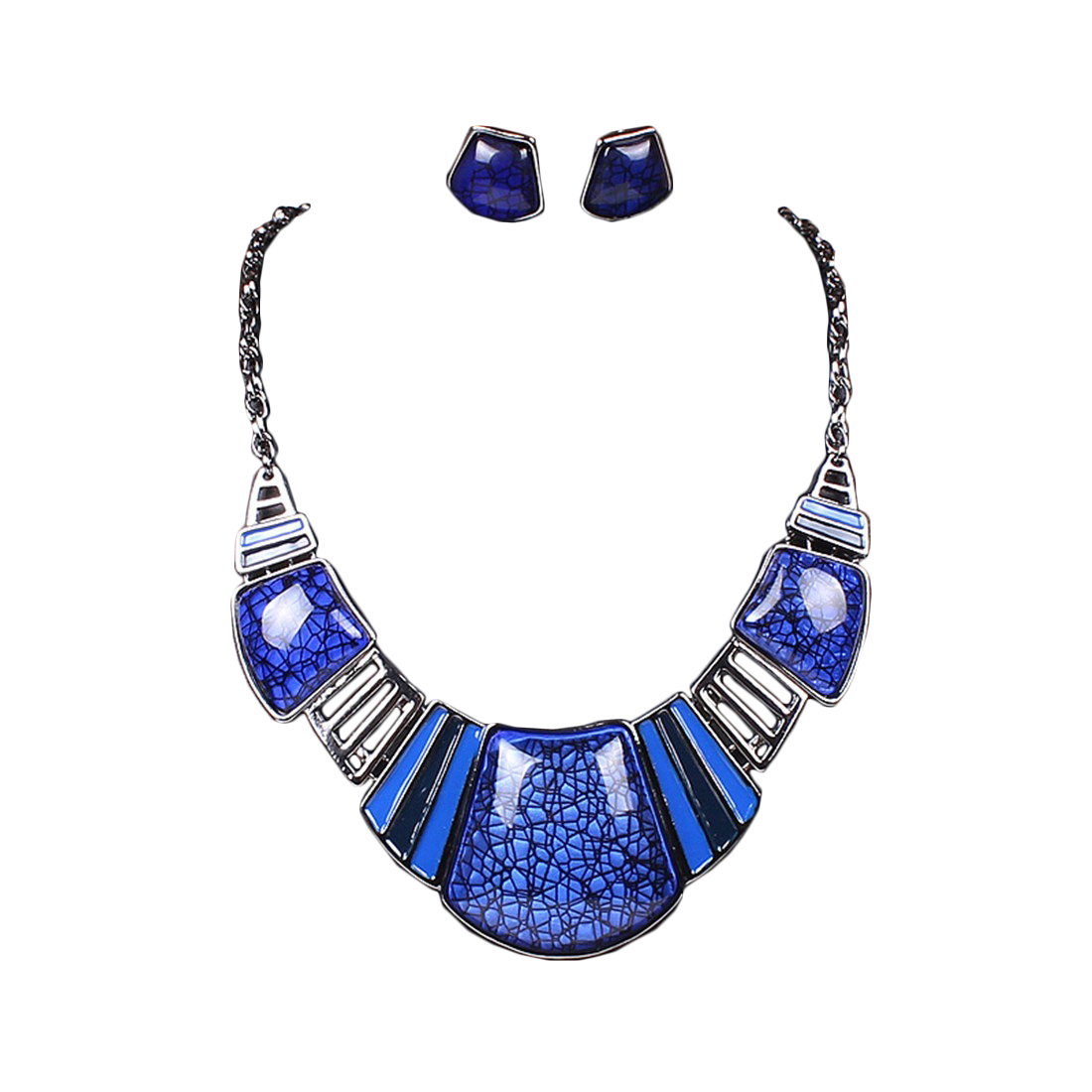 Esther Crescent Necklace Set