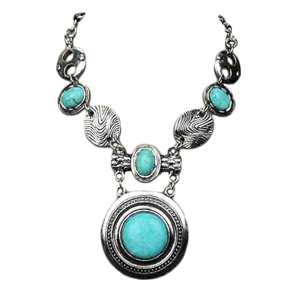 Aimee Turquoise Necklace