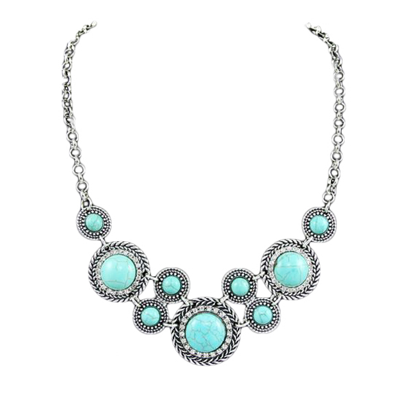 Manon Turquoise Necklace