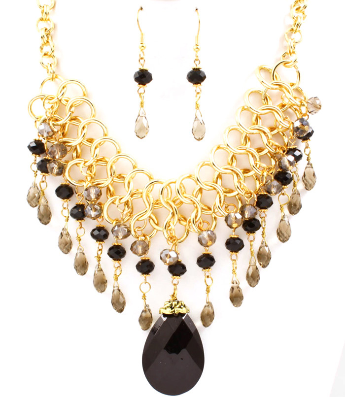 Carrie Bib Necklace Set