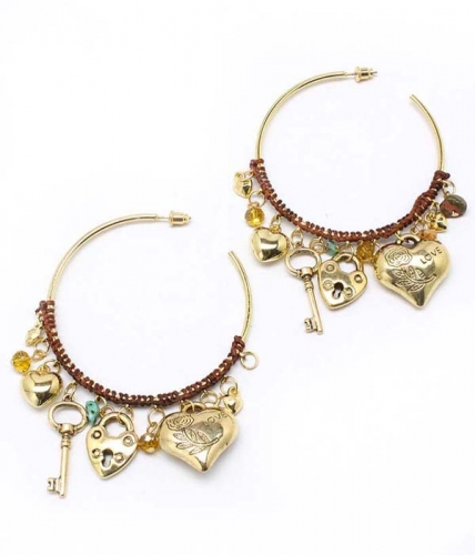Hope Hoop Earrings