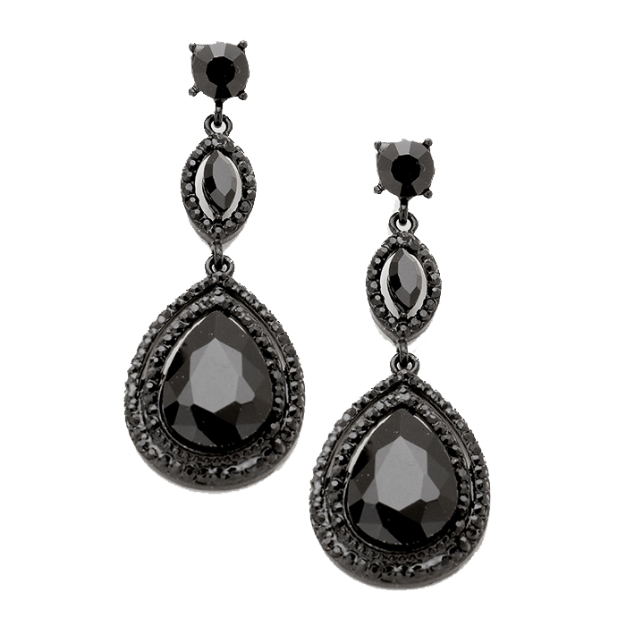 Angelina Tear Drop Earrings.