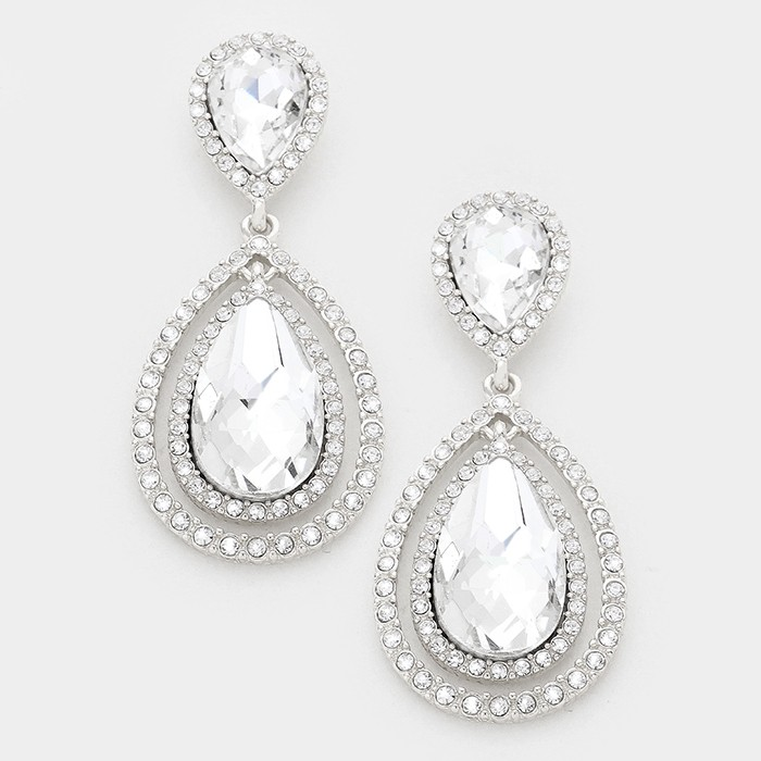 Josie Tear Drop Earrings.