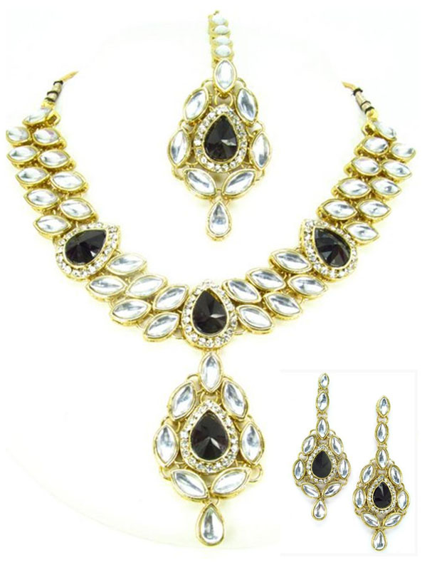 Jasweer Indian Necklace Set