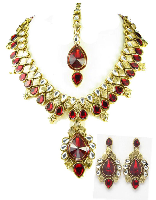 Lavangi Indian Necklace Set