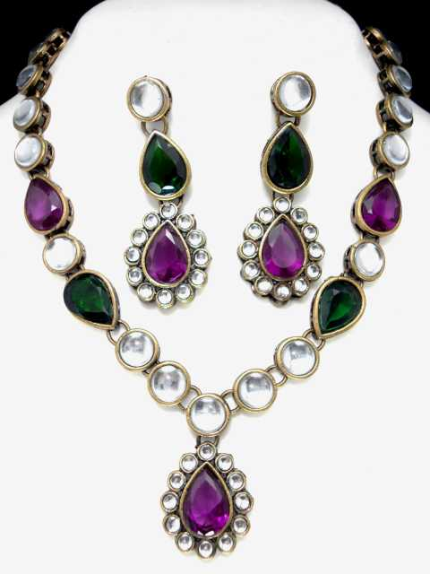 Sanvi Indian Necklace Set