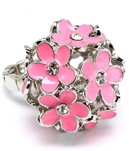 Alyssa Flower Ring