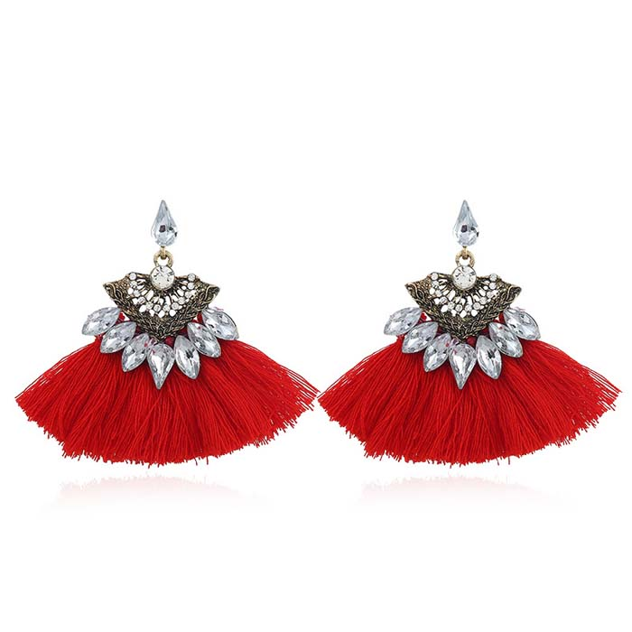 Elise Tassel Earrings
