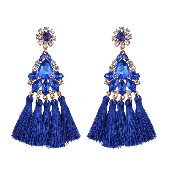 Delmare Tassel Earrings