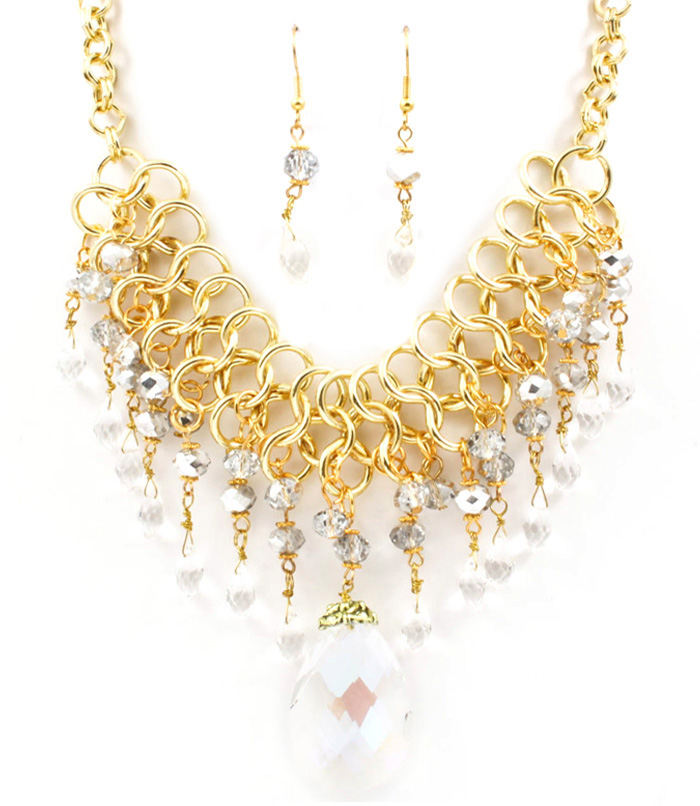 Lexie Bib Necklace Set