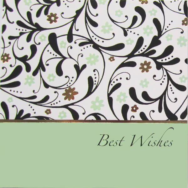 Best Wishes II Greeting Card