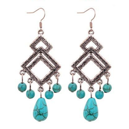 Daphne Turquoise Earrings