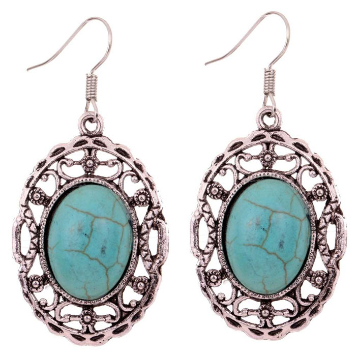 Alanis Turquoise Earrings