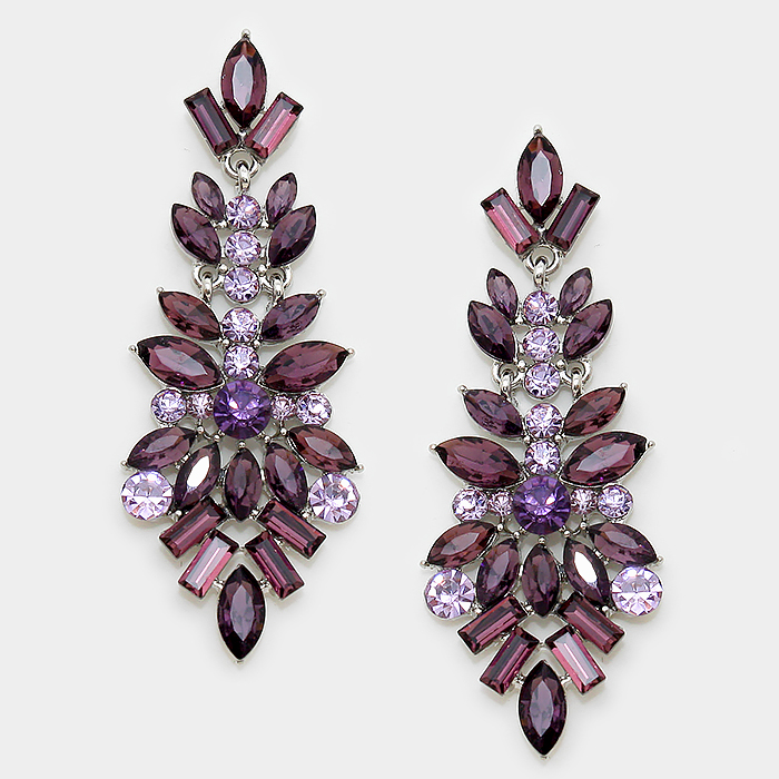 Leonie Crystal Earrings