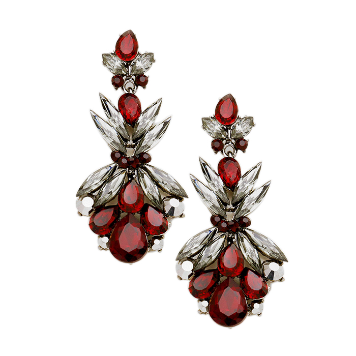 Mila Crystal Earrings