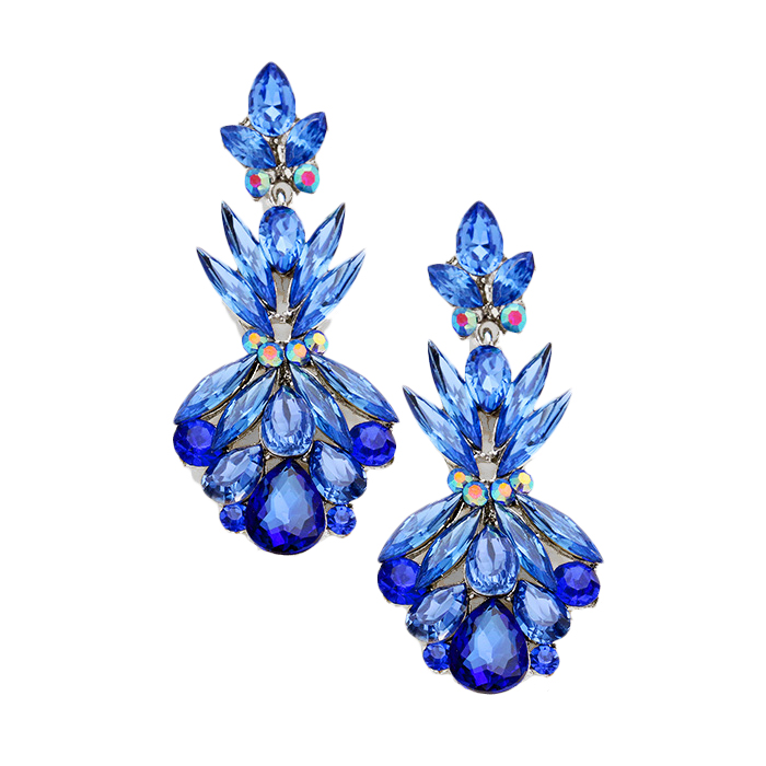 Greta Crystal Earrings