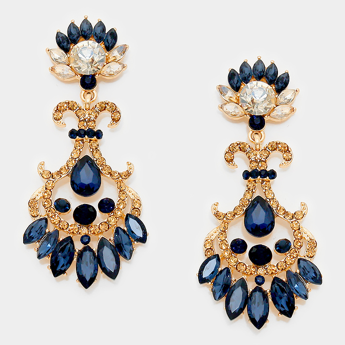 Henrietta Crystal Earrings