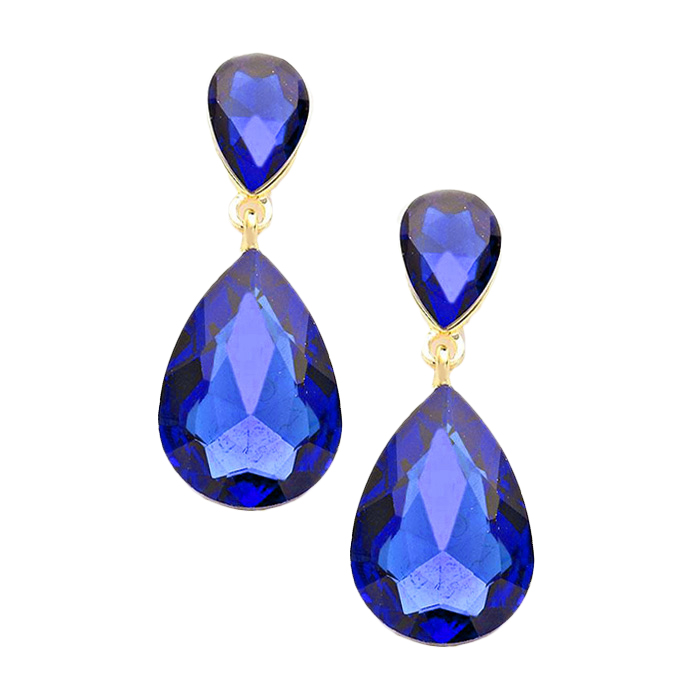 Ashanti Tear Drop Earrings