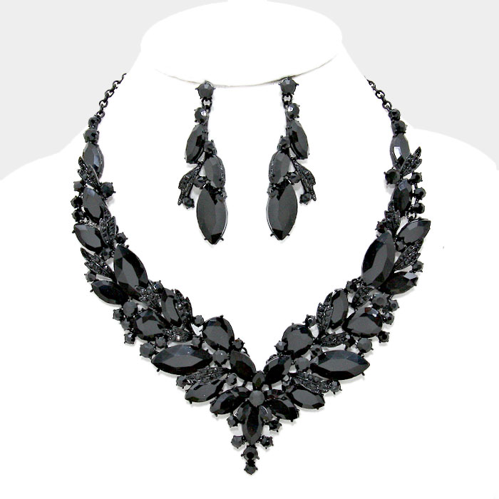 Camilla Crystal Necklace Set