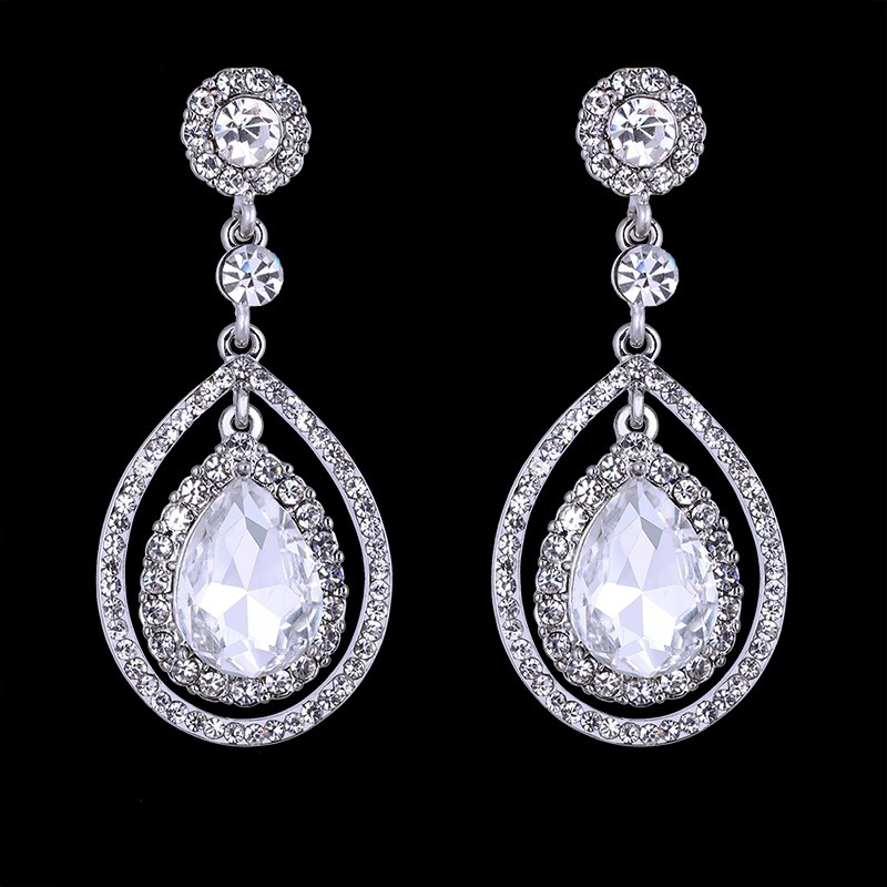 Cherita Rhinestone Earrings