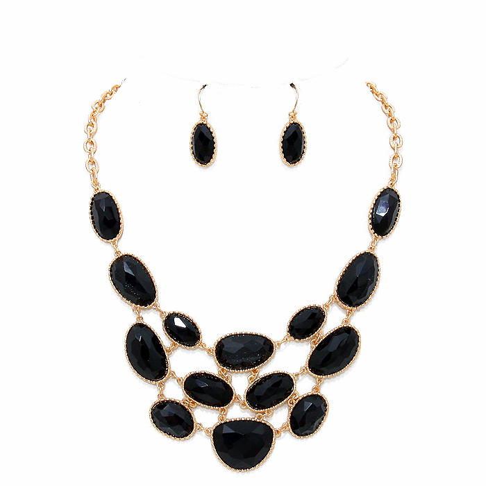 Matilda Stone Necklace Set