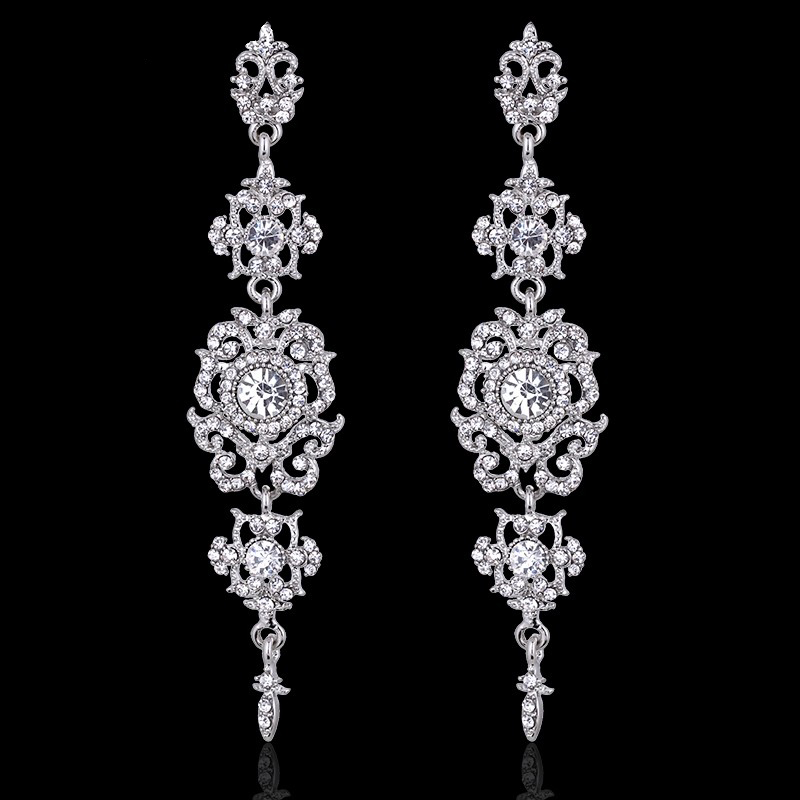 Amitee Rhinestone Earrings