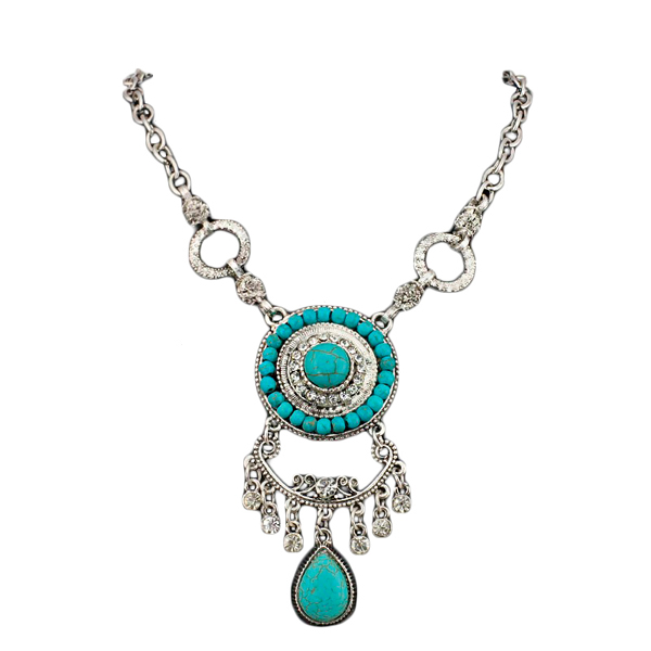 Joelle Turquoise Necklace