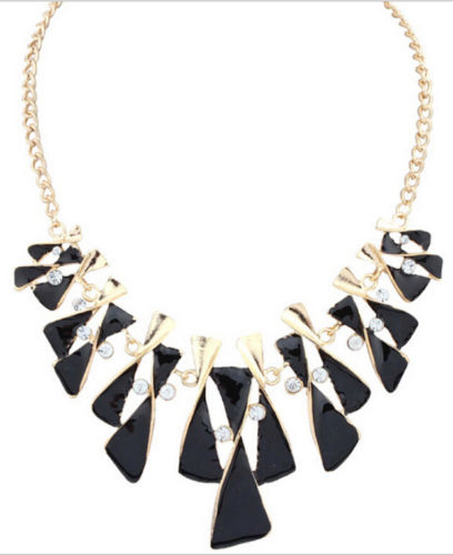Lina Bib Necklace