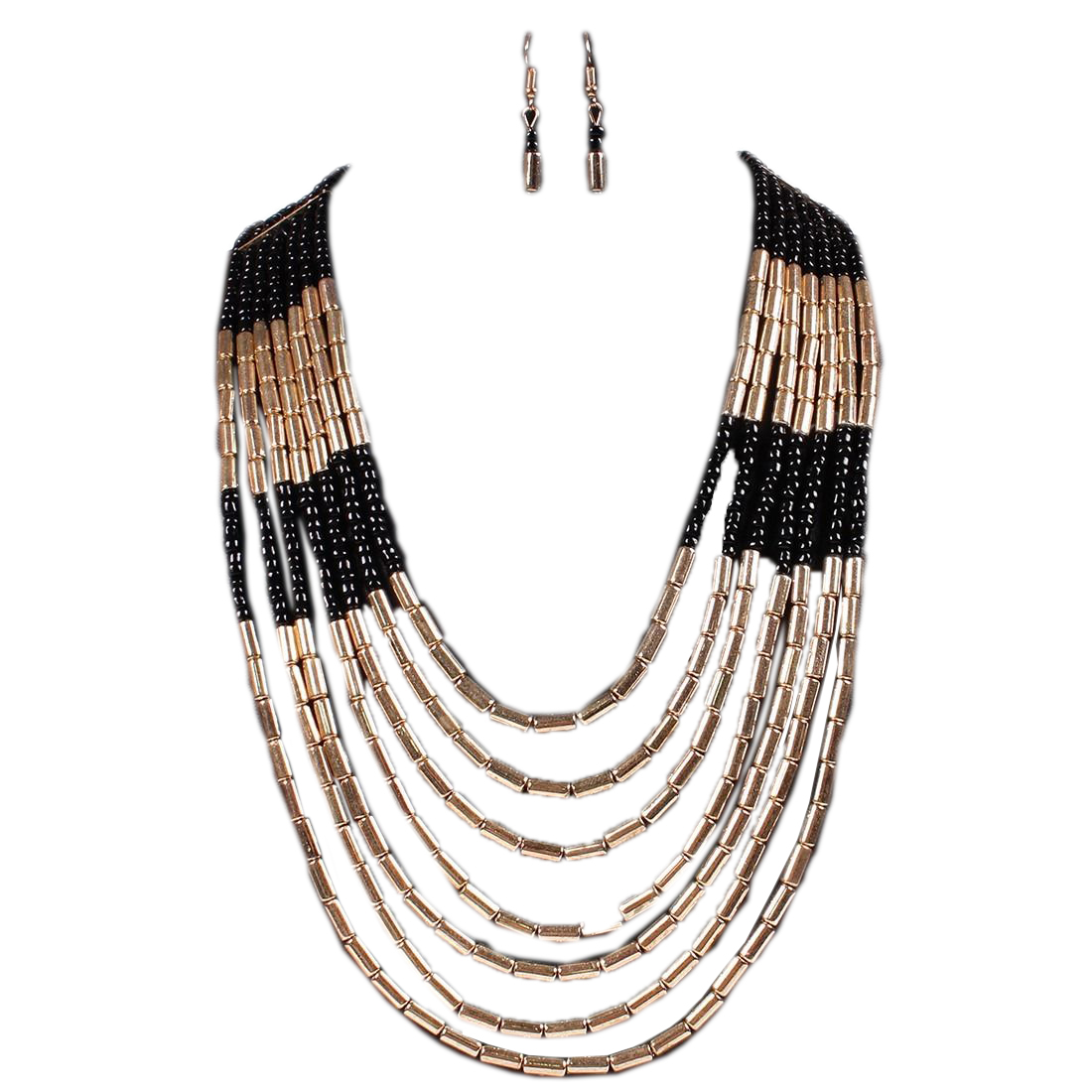 Ansley Bead Necklace Set