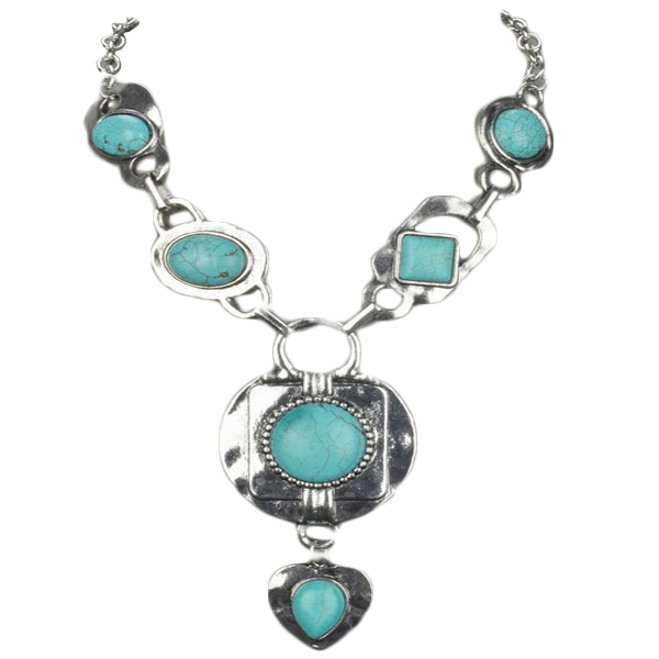 Laurina Turquoise Necklace.
