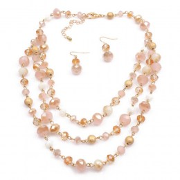 Stina Bead Necklace Set