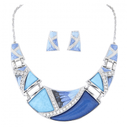 Ranja Crescent Necklace Set