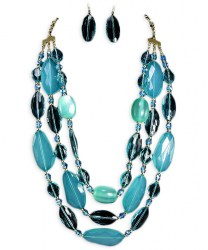 Nancy Bead Necklace Set