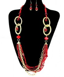 Charlotte Bead Necklace Set III