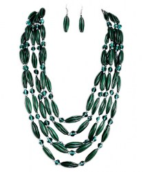 Aida Bead Necklace Set