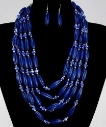 Sancia Bead Necklace Set III