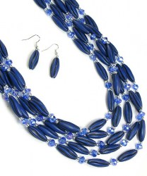 Sancia Bead Necklace Set II