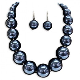 Claudina Pearl Necklace Set