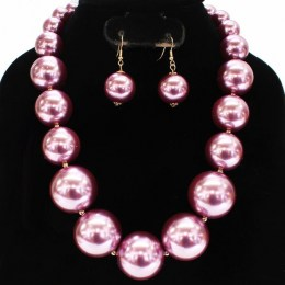 Amalea Pearl Necklace Set II