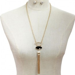 Teodora Y Chain Necklace Set II