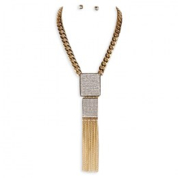 Cristine Y Chain Necklace Set