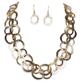 Clarice Chain Necklace Set