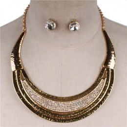 Corine Crescent Necklace Set II