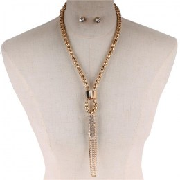Cheri Y Chain Necklace Set
