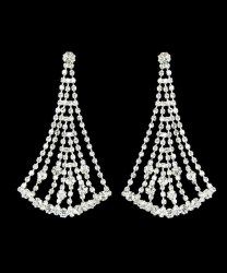 Rebecca Rhinestone Earrings