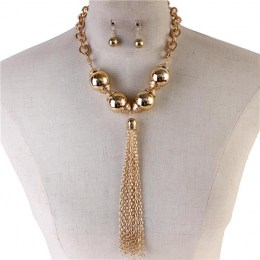 Charmine Y Chain Necklace Set II