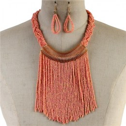 Parnella Bead Necklace Set II