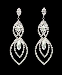Augie Rhinestone Earrings